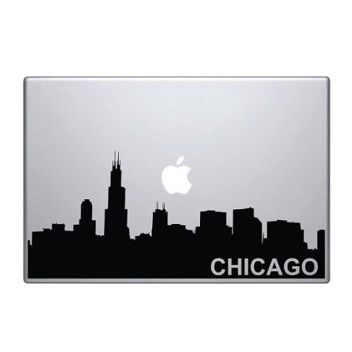 Chicago Sticker (Chicago Skyline Macbook Pro Vinyl)