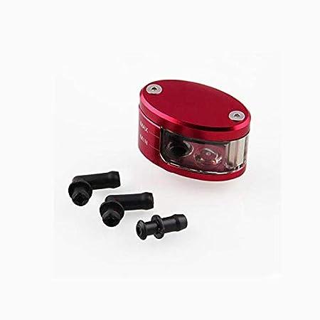 XuBa Universale Freno Serbatoio Olio Serbatoio Liquido Coppa per Yamaha YZF R1 R6 R6S FZ etc