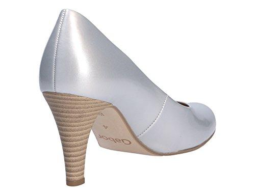 Gabor 65-210 Zapatos de tacón de material sintético mujer Silber