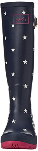 Wellyprint esclusiva Joules Navy Blue Women's Boots Rain Star 8nx7qa