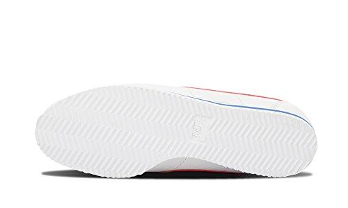 Nike Classic Cortez Premium QS, Scarpe da Corsa Uomo Multicolore (Blanco / Rojo / Azul (White/Varsity Red-vrsty Royal))