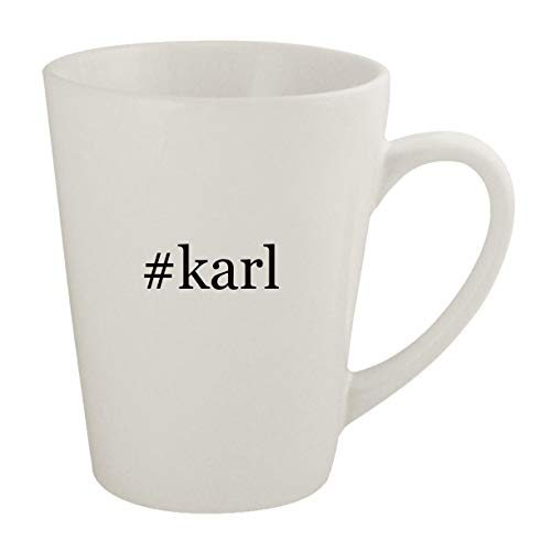 #karl - Ceramic 12oz Latte Coffee Mug (Karl Pilkington A Day In The Life)