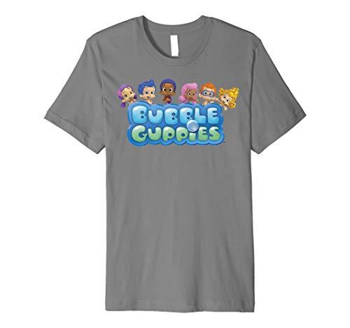 Nickelodeon Bubble Guppies Group Logo Premium T-Shirt