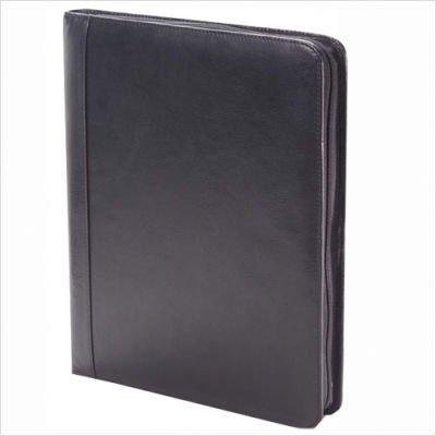 (Clava Tuscan Leather Extreme File Padfolio (Tuscan Black))
