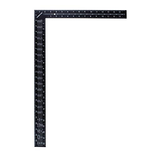 POWERTEC 80008 Steel L Shaped Rafter/Framing Square  24 x 16