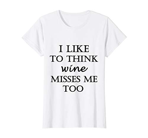 Womens Wine Misses Me Too Mom Pregnancy Announcement Reveal T-Shirt