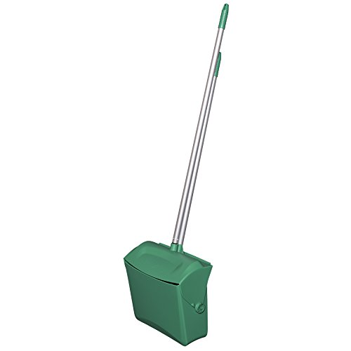 Remco 62502 Lobby Dustpan with Broom, Polypropylene/Polyester/Aluminum, 7'' X 14'' Bin, 37'' Handle, Green by Remco (Image #2)