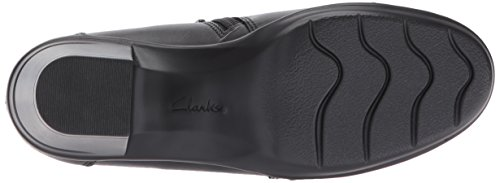 Clarks Women's Emslie Warren Slip-on Loafer Black Leather XX2KYhornP