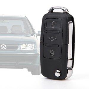 3 Boton Carcasa del Mando Coche VW Volkswagen SKODA SEAT