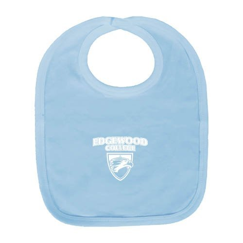 Light Edgewood One (Edgewood Light Blue Baby Bib 'Official Logo')