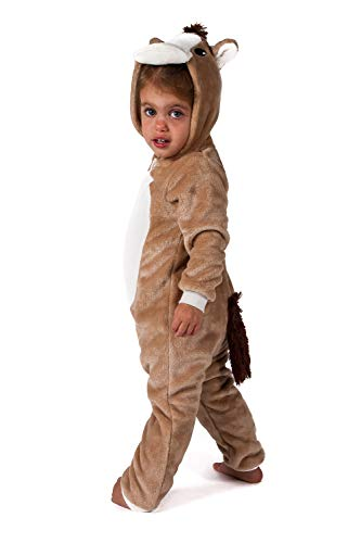 Jammers Baby Infant Toddler Onesie Animal Costume - Horse (6-12 Months) ()