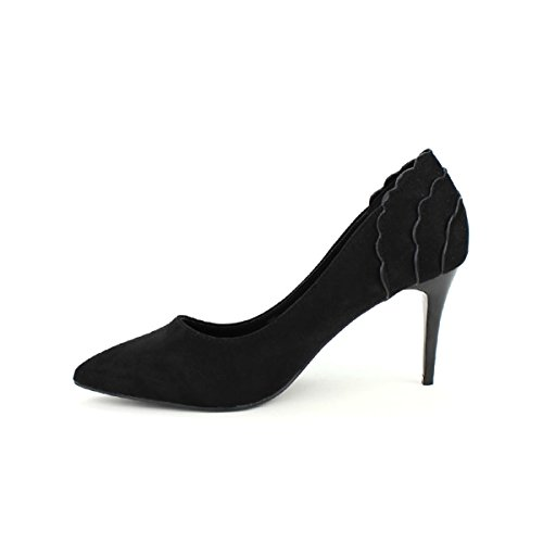 Noir Femme H Studio Escarpin Cendriyon Chaussures WpxcR5wO