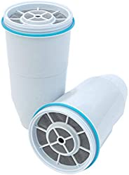 ZeroWater Replacement Filters 2-Pack BPA-Free Replacement Water Filters for ZeroWater Pitchers and Dispensers