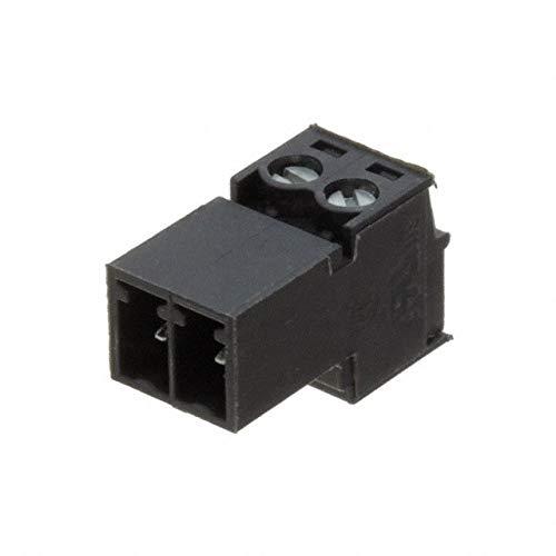 TERM BLOCK PLUG 2POS STR 3.81MM (Pack of 20)