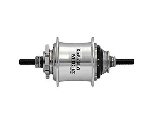 Sturmey Archer Rs-Rk3 3-Sp Disc Hub, 36H - Silver - HKC3K.QTSS.S00.BX
