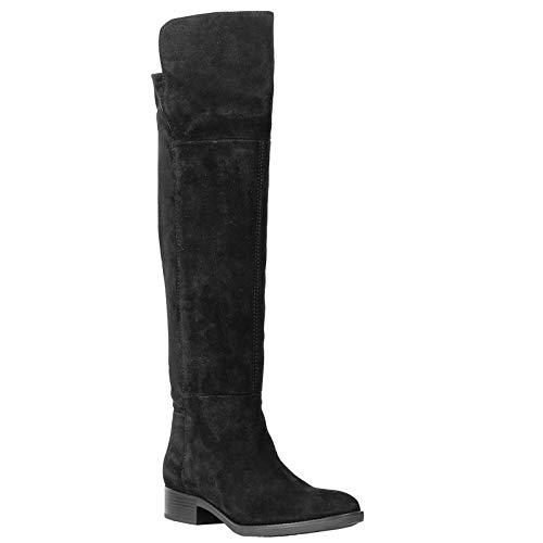 ginocchio D G il sopra Felicity nero Stivali Nero Donna C9999 Geox qaFSF