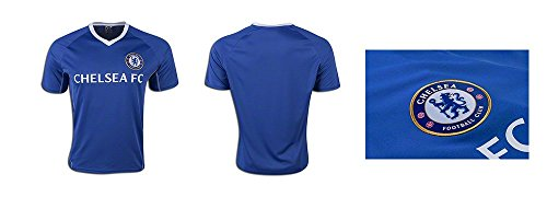Chelsea Fc Adult Training Soccer Jersey Add Any Name and Number - Custom Name and Number (S, NO-NAME)