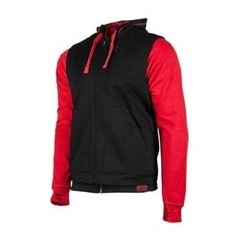 Speed and Strength Mens Bikes Are In My Blood Red/Black Vest/Hoodie 884209