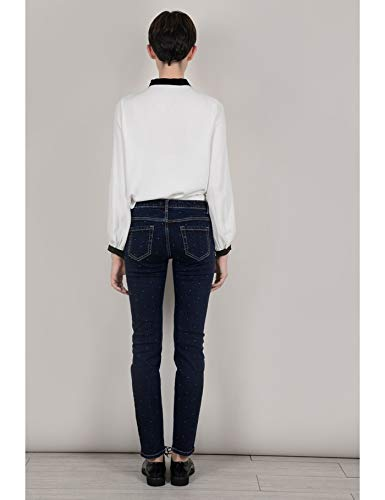 Couleur ajust Bracken BRUT XS Molly Jeans Taille points petits basse taille FgE1A7wq
