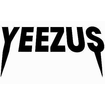 Kanye West Yeezus Tour Yeezy Vinyl Sticker Truck Car Auto Laptop Macbook Wall Art Window