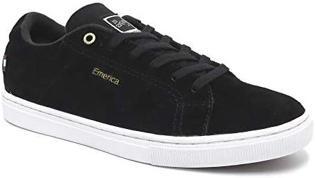 SHOES シューズ スニーカー ROMERO AMERICANA 黒/白/ゴールド BLACK/WHITE/GOLD スケートボード スケボー SKATEBOARD