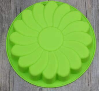 Sixlus Pastel de silicona en forma de flor Pastel de pastel Flan Tarta de molde Pastel de chocolate hecho en casa Magdalena: Amazon.es: Hogar