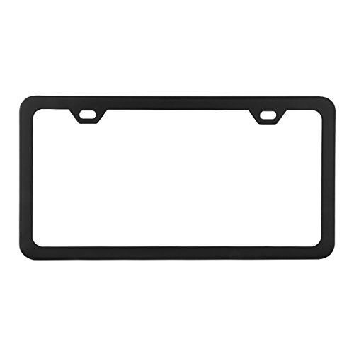 license plate frame with tabs - 4