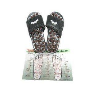 Sandales Réflexologie - Massage Chaussons pieds; Acupressure Massage, massage des pieds, massage réflexe Sandal Slippers; Réflexologie;