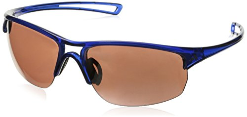 adidas Raylor 2 L Non-Polarized Iridium Oval Sunglasses, Transparent Blue, 65 - Adidas Transparent
