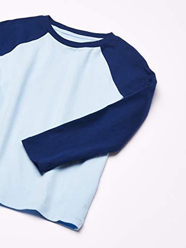 Amazon Essentials Boys Long-Sleeve Raglan Baseball T-Shirts