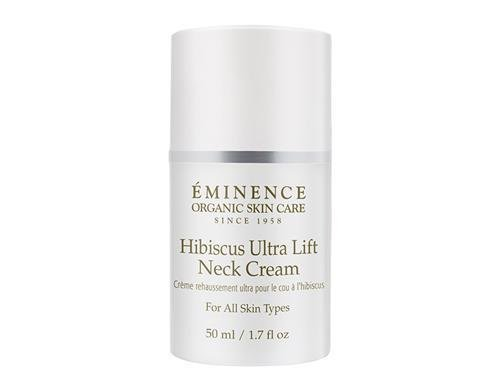 Eminence Organic Hibiscus Ultra Lift Neck Cream - 50 ml / 1.7 oz SKIN BEAUTY
