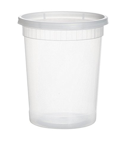 YW COMINHKR02572325 sets 32oz plastic soup/Food container with -