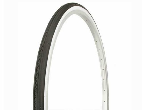 Duro Colored Wall Tire Road Bike 700 X 25c Tire By Sgvbicycles (White Wall)