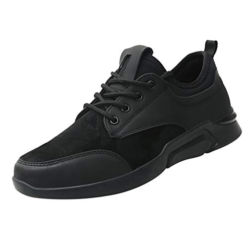 Comfortable Fashion Sneakers Air Slip On Baseball Shoes Casual Athletic Boot Young Men Footwear Shoe for Walking Tennis Gym Black