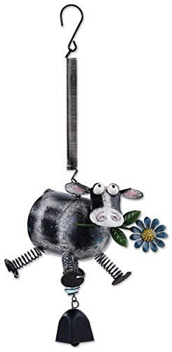 Sunset Vista Designs Cow with Springy Legs Bouncy Hanging Decoration