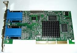 32MB Matrox Millennium G450 Graphics Adapter MGA AGP 4x DDR - 4 X Agp Slot