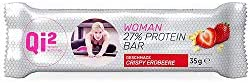 Qi² WOMAN 27% Protein-Riegel Crispy-Erdbeere