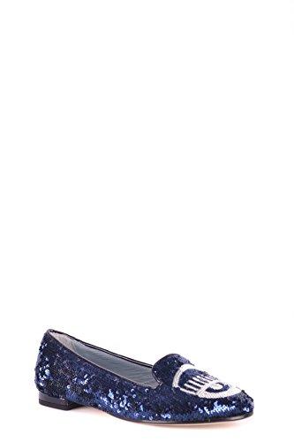 Chiara Ferragni Damen MCBI331006O Blau Ballerinas