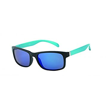 Chic-Net Sonnenbrille Herren verspiegelt 400 UV breit schmal Scharnier bunt Bügel weiß SEiFm