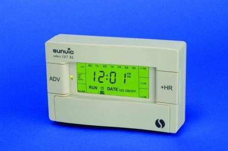 Heating Sunvic 107XLS White 107 XLS Single Channel Programmer