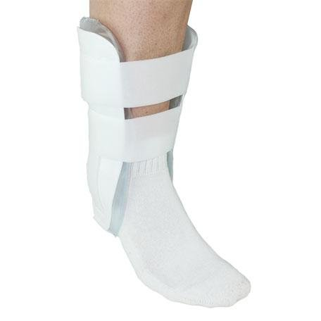 Premium Air Stirrup Ankle Brace Stabilizer With Air & Gel Cold Therapy - One Size Fits All by MARS Wellness