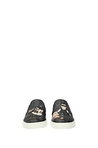 Dolce Damen EU amp;Gabbana Hausschuhe CK0028AE3798B969 Schwarz n0FBwFqY