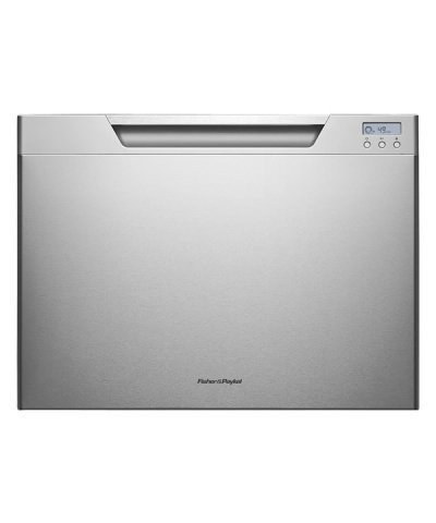 DishDrawer-Tall-Series-DD24SCHTX7-24-Semi-Integrated-Single-Drawer-Dishwasher-with-7-Place-Settings-9-Wash-Cycles-Adjustable-Racks-Eco-Option-and-Energy-Star-Approved-in-Stainless