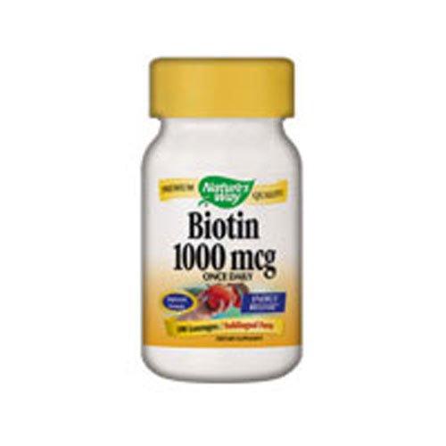 NATURE'S WAY BIOTIN 1000 MCG LOZENGE, 100 LOZ