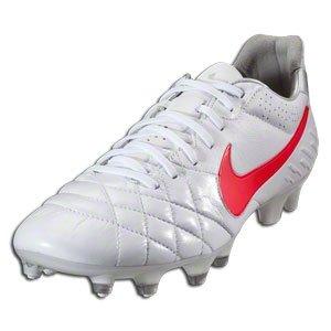 hot sale online 4212b 4cdd6 Nike Tiempo Legend IV FG - (White/Mtlc Silver/Siren Red ...
