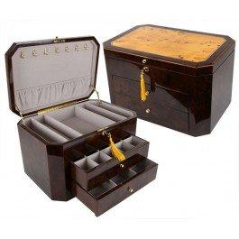 Birdseye Maple Jewelry Box - The Augusta The Jewelry Box