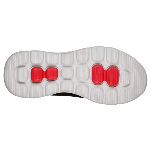 Trim red Evolution Nero Ultra Skechers Go Synthetic black Sneaker Walk Bkrd enhan Uomo OqqPv4