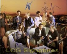 Signed Studio 60 On the Sunset Strip 8x10 By The cast of 8 autographed