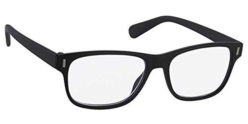 Lesehilfe URD078FA25 Lesebrille Unisex Damen Herren Fertigbrille in +2.50 Dioptrie 2 5 - Farbe schwarz