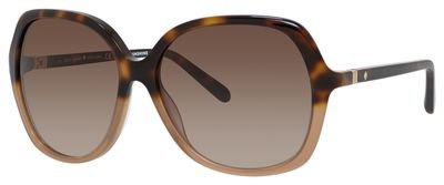 Kate Spade Jonell/S Sunglasses Havana Nude / Brown Gradient by Kate Spade New York